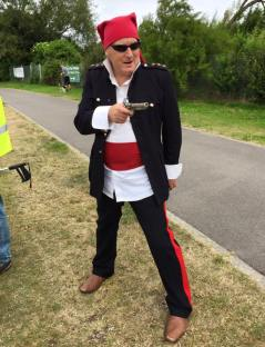 Peter Flangan from Friends of Weston Shore - Avast ye landlubbers!