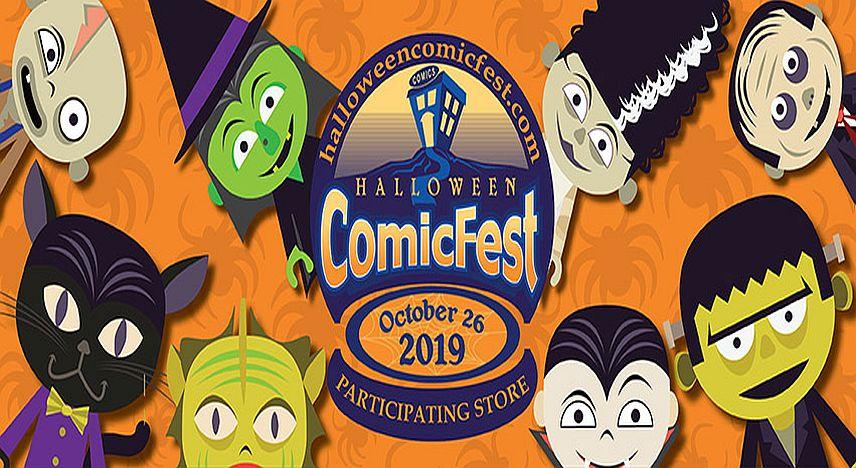 halloween comicfest website cover 2019