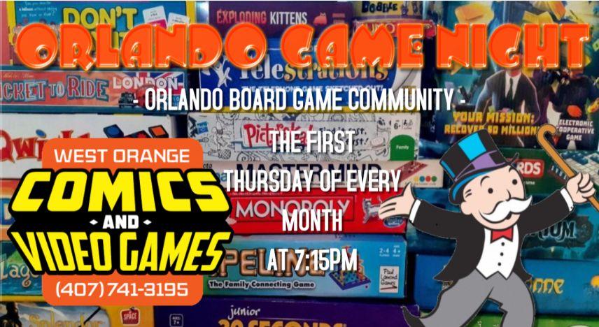 board game night header