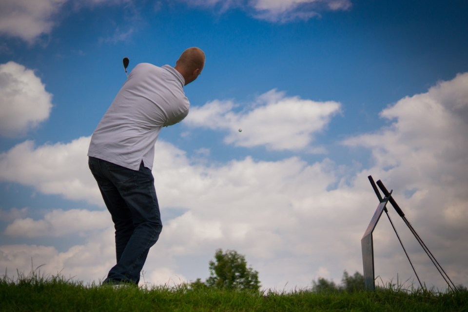 Professional Golf Swing