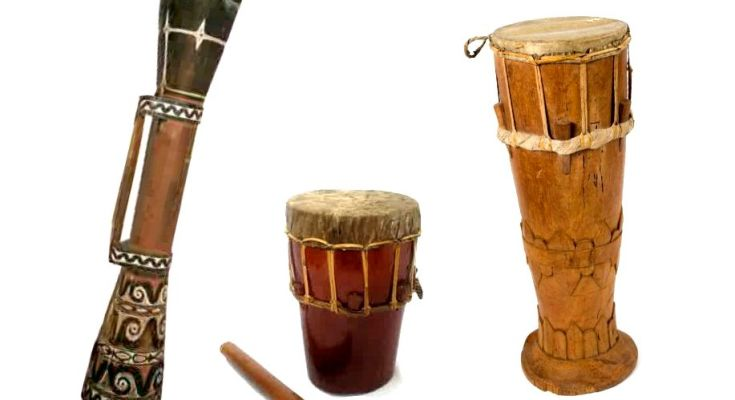 6 Traditional Musical Instruments from West Papua