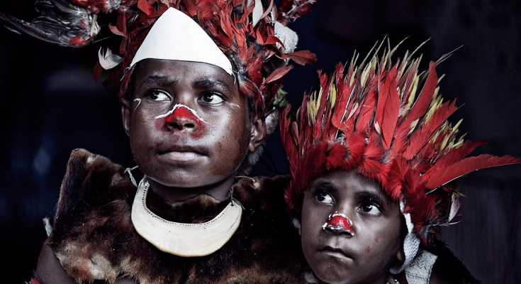 The Beautiful Body Tradition of Moi Tribe in West Papua