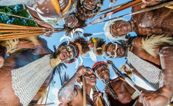 The Sacred Oksang Dance from Ngalum Tribal in West Papua