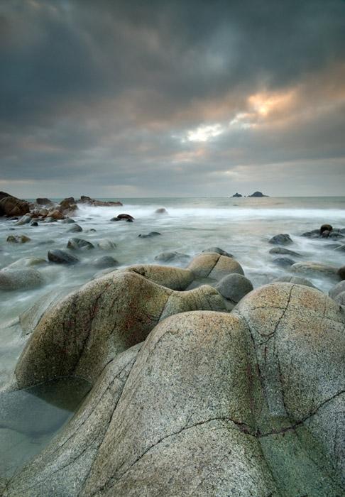 rock, sea and sky