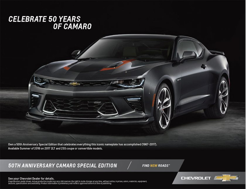 5TH Anniversay Camaro available at Ron Westphal Chevy in Aurora, IL