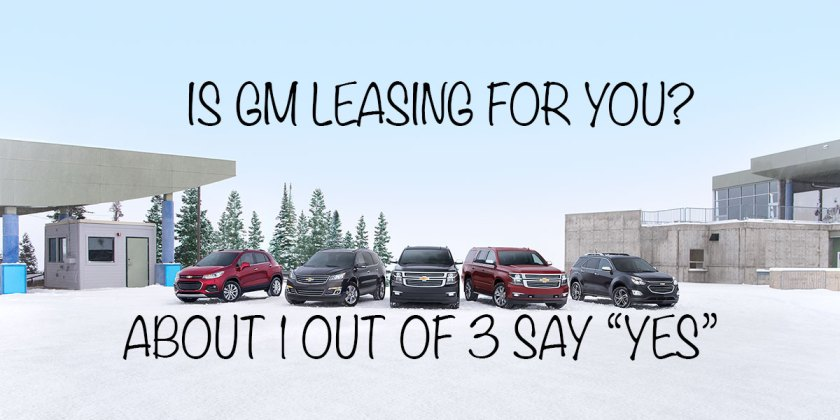 Is GM Leasing for you? Ron Westphal Chevrolet Aurora, IL