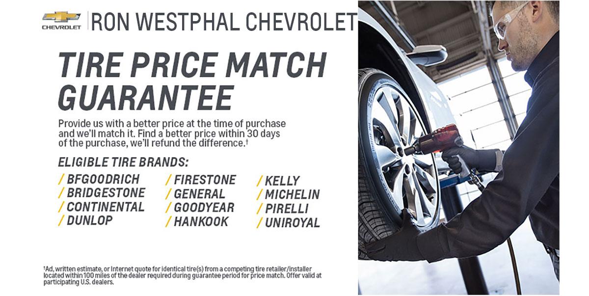 30 Day Tire Price Guarantee