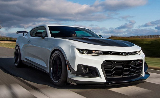 First 2018 Chevrolet Camaro