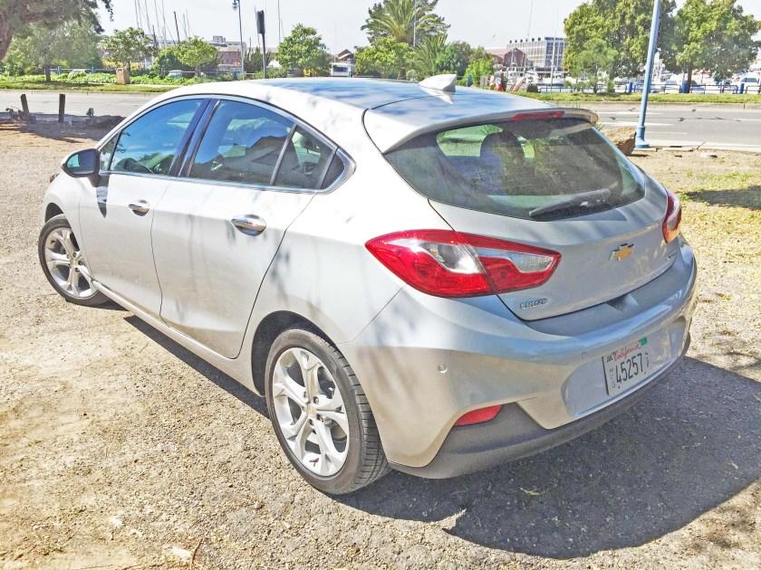 Silver Cruze Hatchback 2017