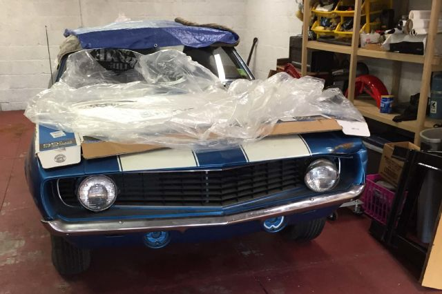 Rare Find: 1969 Chevrolet Camaro Z/28 Sees Daylight After 40 Years' Storage