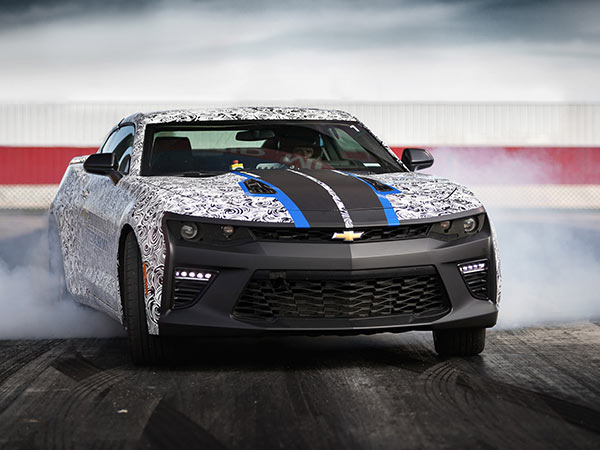 Chevrolet Camaro SS Drag Race Development Program Continues to Tune the Camaro