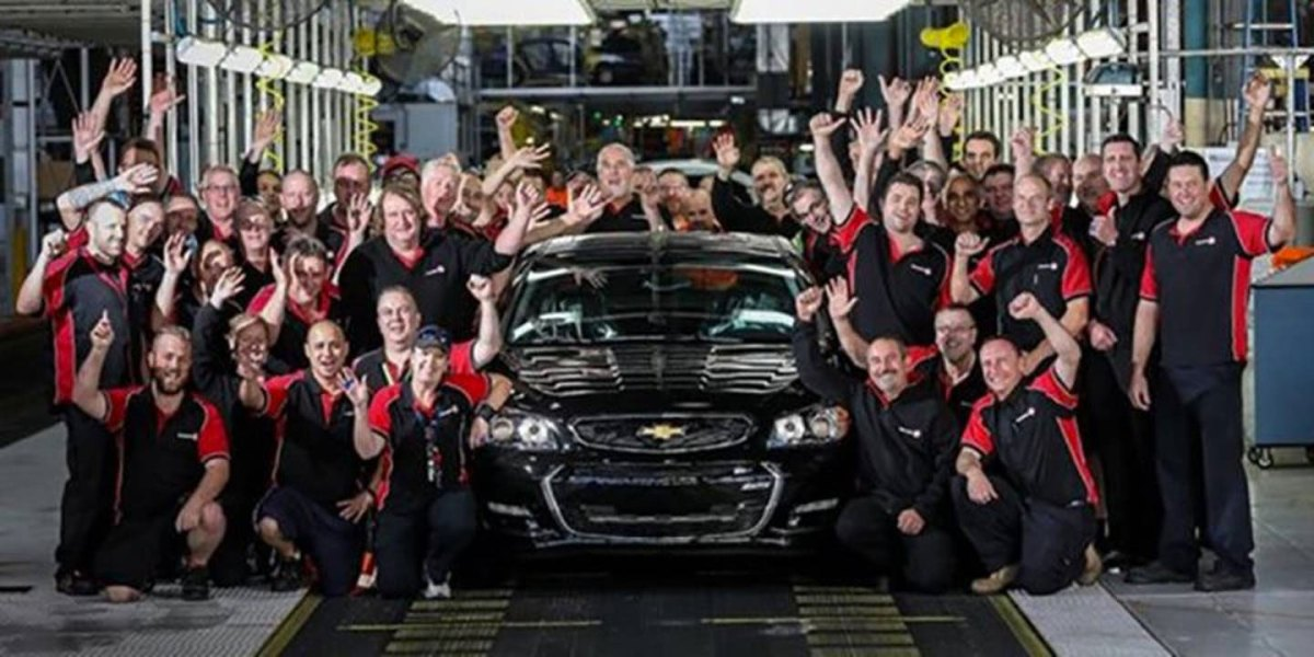 The final Chevy SS was built today.