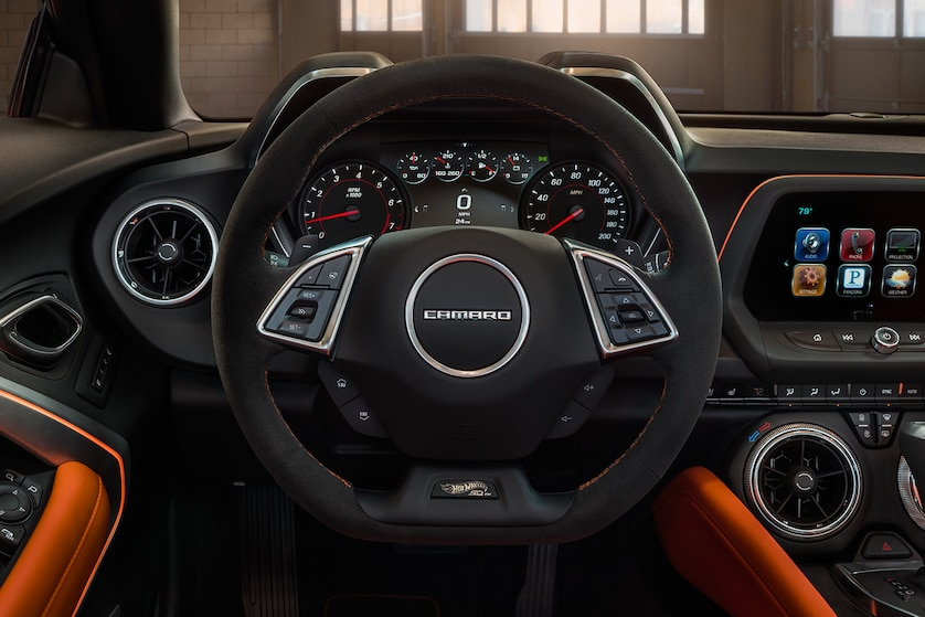 camaro hot wheels edition dashboard