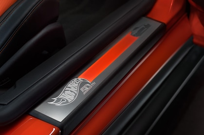 camaro hot wheels edition sill plate badging
