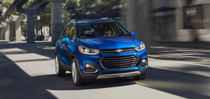 Chevy Trax sales numbers for January 2018