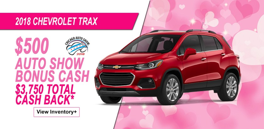 2018 Chevrolet Trax Auto Show Savings