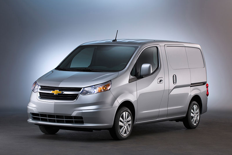 Chevrolet City Express van discontinued
