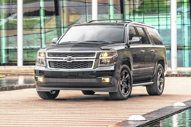 2018 Chevy Suburban z71 midnight edition