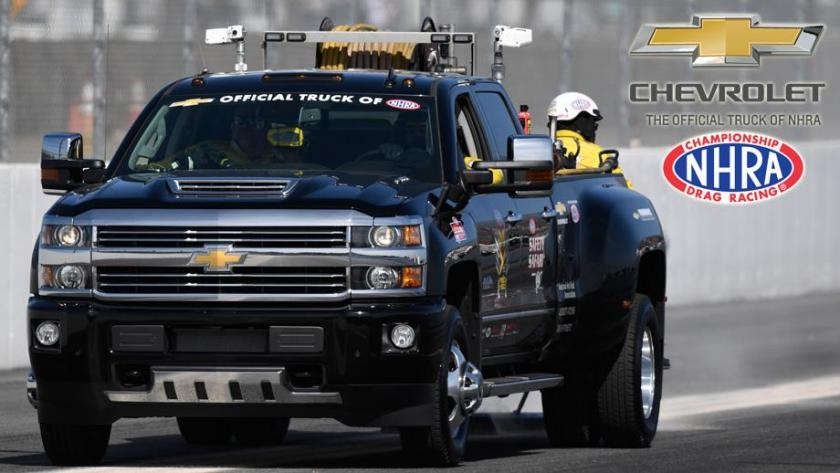 Chevrolet renews agreement as Official Truck of NHRA
