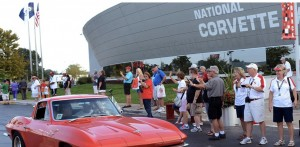 national corvette museum picture honors veterans