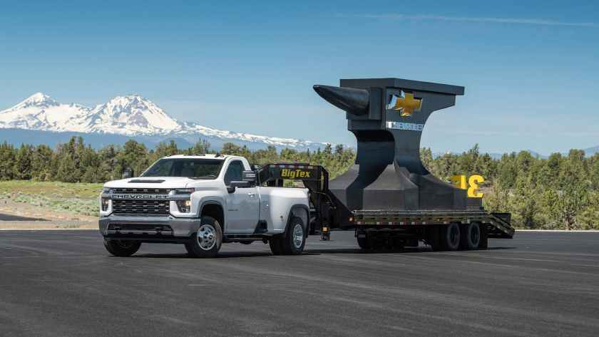 2020 Chevrolet Silverado HD Faster at 0-60 Than Ram HD