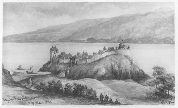 Urquhart Castle Prior to its Destruction