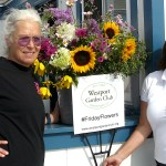 Garden Club 'Petals' Community Goodwill on 'Friday Flowers'