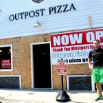 Back in Business: Outpost Pizza Opens After Repairs to Crash Damage