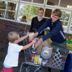 Hundreds Pitch In with Police Food Drive at Stop & Shop