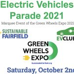 Green Wheels EV Parade and Expo Charged Up for Saturday