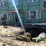 Propane Tank Toppled by Ida Triggers Gas Leak Call to Firefighters