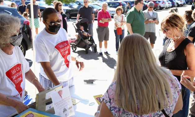 Delicious Turnout for Slice of Saugatuck
