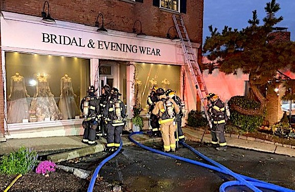 Fire Doused Quickly in Post Road East Commercial Building