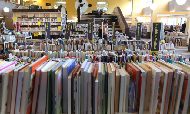 Library Book Sale Back this Weekend …