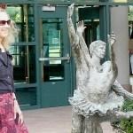 Sculpture Dedicated at Staples in Tribute to Westport's  Arts Legacy