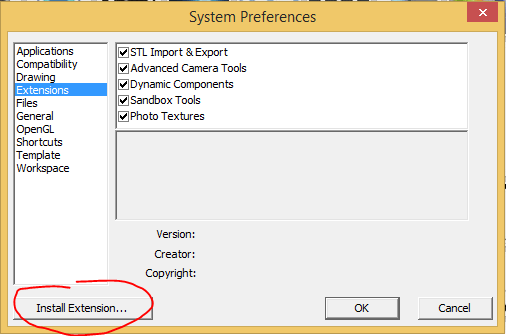 Install-Extention