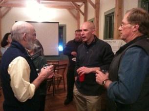 Greg Meulmans, Glenn Annis & Bill Badger (photo by Chrissy Blaylock)