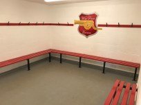 Football Pavilion Home Changing Room