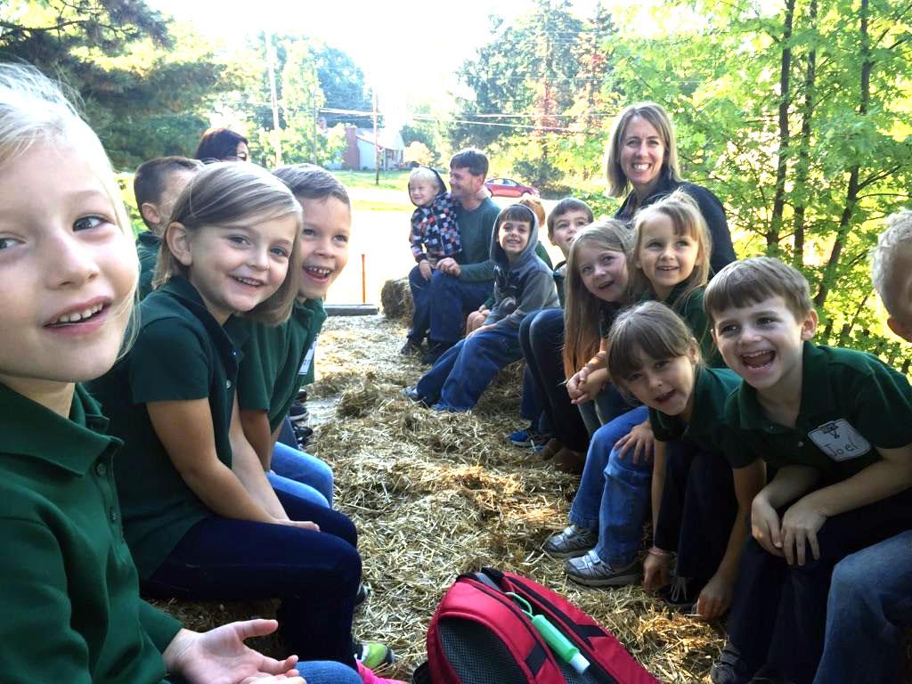 Kindergarten Hay Ride