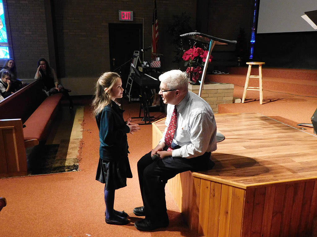 Headmaster & 3rd Grader