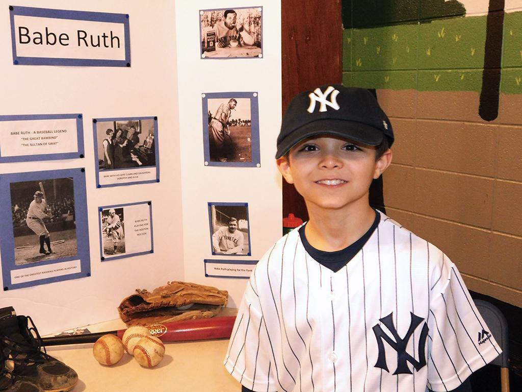 3rd Grade Wax Museum - Babe Ruth