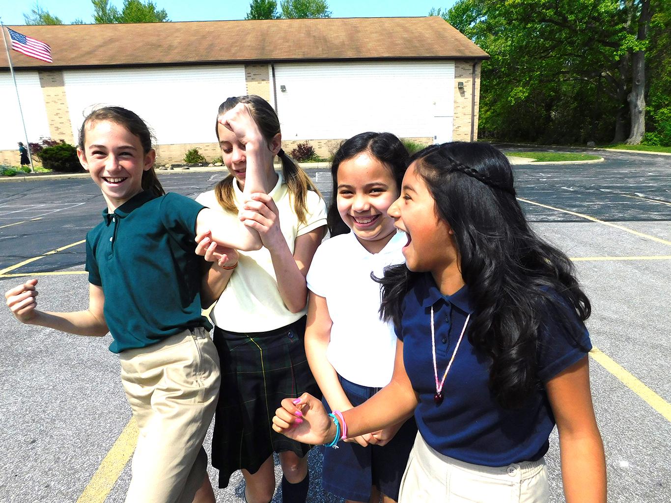 Fifth Grade Girls