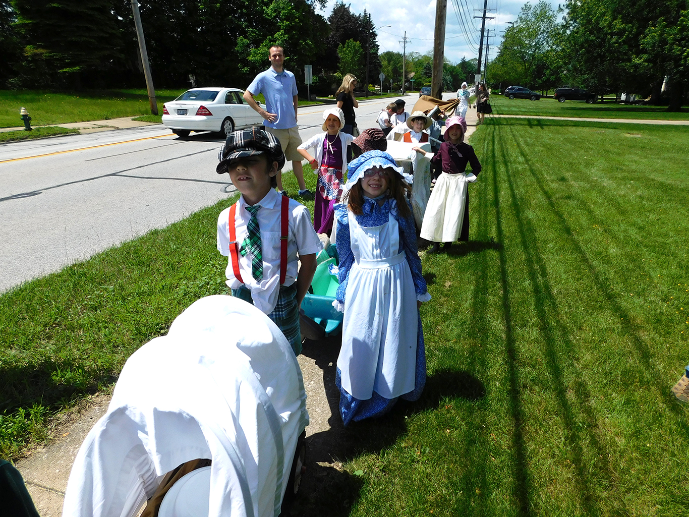 First Grade Pioneer Parade