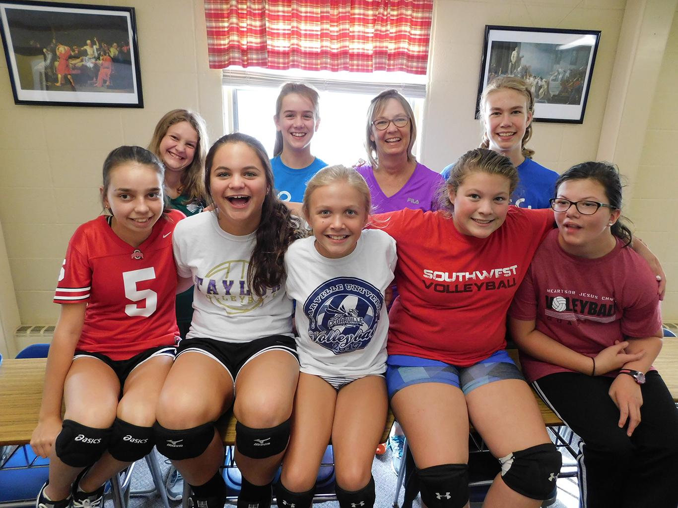 7th/8th Grade Volleyball Team