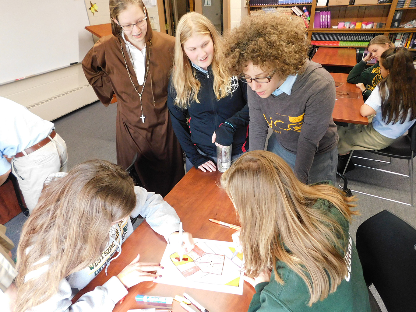 Upper School House Competition on the Reformation