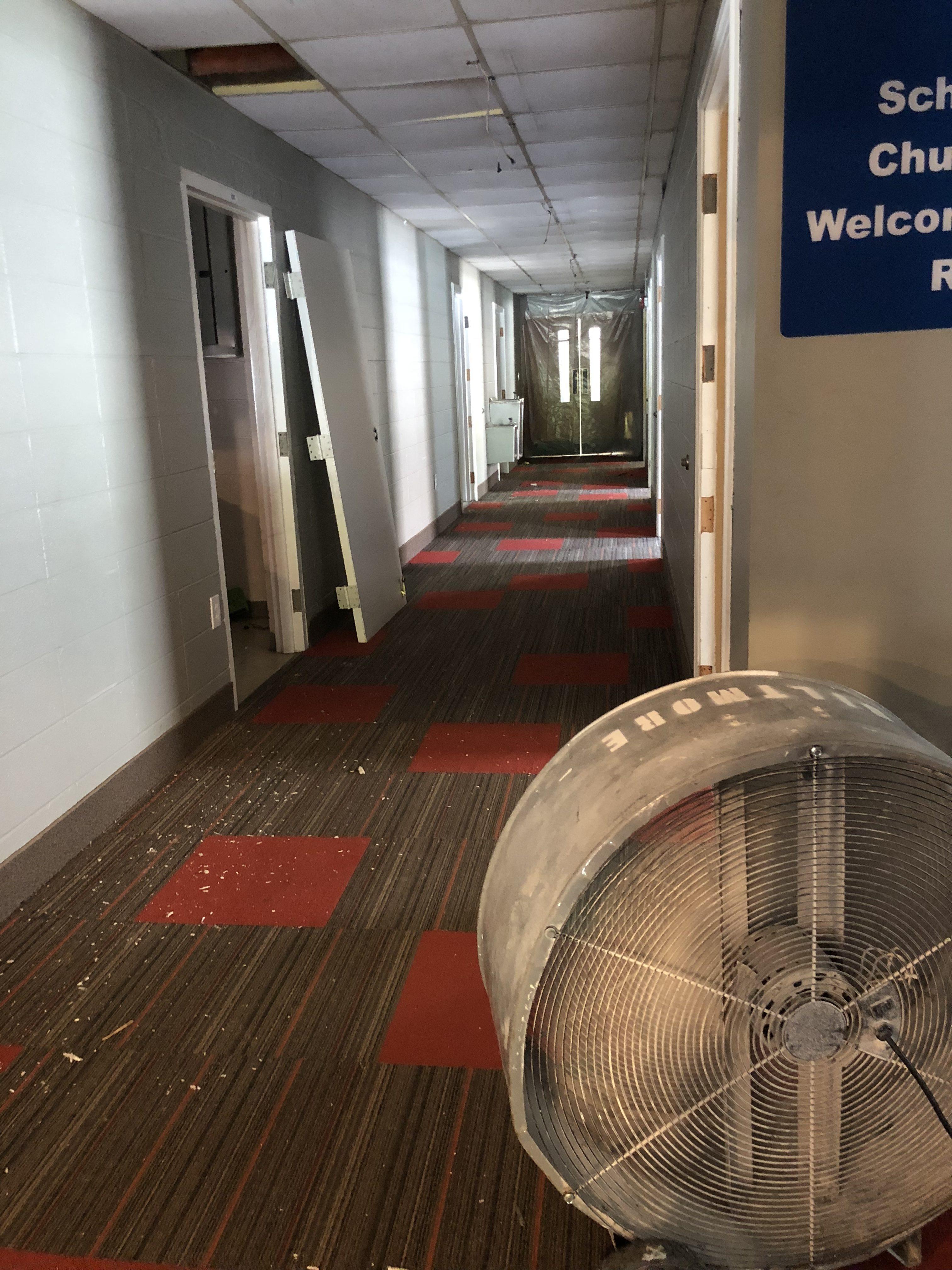 US Hallway