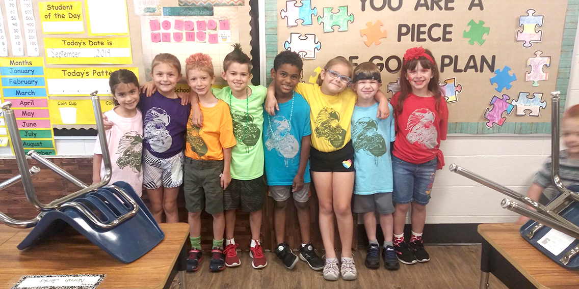 First Grade Field Day
