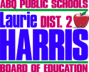 Laurie Harris campaign logo