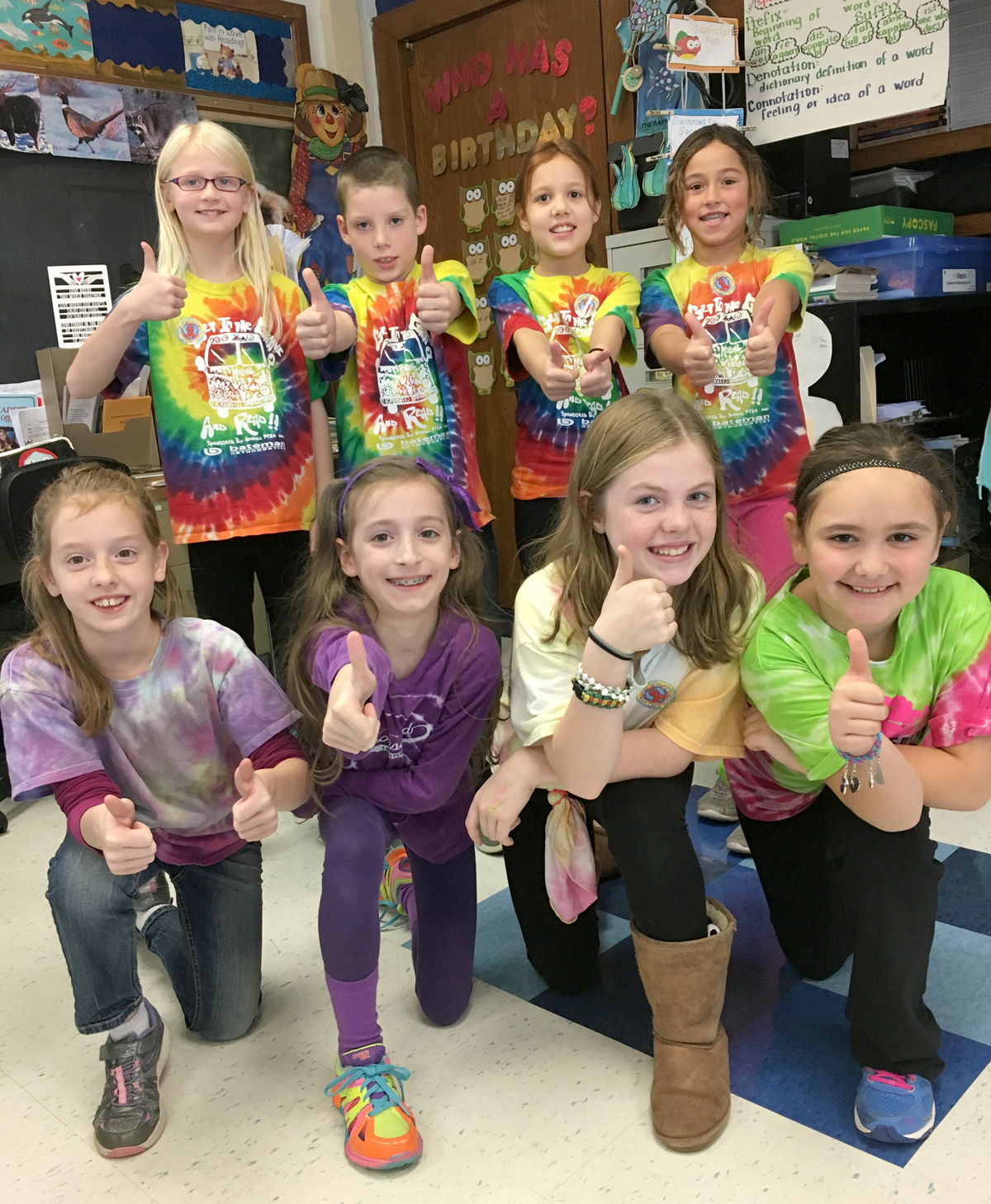 Kendall Elementary Students Celebrate Red Ribbon Week
