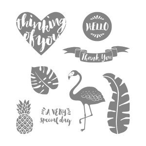 Pop of Paradise Stamp Set